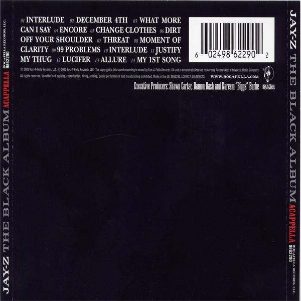 Lucifer Jay Z Mp3: The Black Album - Jay-Z